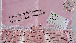 getlinkyoutube.com-Como fazer babadinho de tecido para toalhinhas