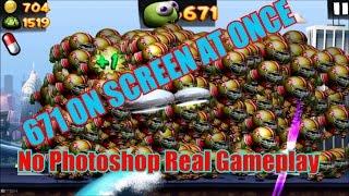 getlinkyoutube.com-Zombie Tsunami Cientos de Ninja 'está en la Pantalla High Score 1800+ and más diversión