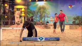 getlinkyoutube.com-TITO SPERANZA - FUTBOL PLAYA PARTE 2 - BAILANDO 2012 FULL HD