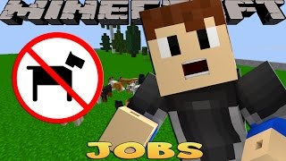 getlinkyoutube.com-Minecraft Jobs - THE PUPPY POUND RESCUE!!