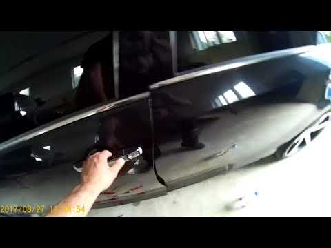 Тойота камри. Шумоизоляция дверей