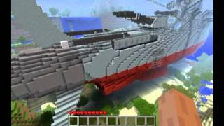 getlinkyoutube.com-Minecraft Space Battleship Yamato