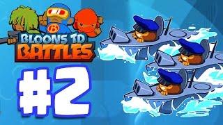getlinkyoutube.com-BEST SUBMARINE STRATEGY! | Bloons TD Battles Gameplay Walkthrough Part 2