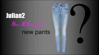 getlinkyoutube.com-AJ- Julian2 likes Lilacpetal's new ''pants''