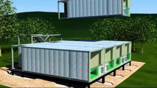 getlinkyoutube.com-Arkistruct's Mass Produced Unfolding Accommodation and Panelized Modular Housing Solutions