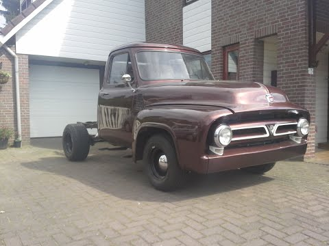 Ford F100 1953 shift linkage AODE.