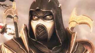 getlinkyoutube.com-INJUSTICE GODS AMONG US 'The History of Scorpion' Mortal Kombat 【HD】