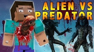 getlinkyoutube.com-ALIEN Vs PREDATOR MOD! Minecraft 1.7.2 Mod Showcase - MOBS, GUNS & DORITOS