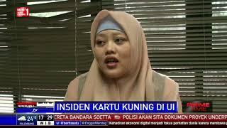 UI Minta Maaf ke Presiden Jokowi Atas Aksi