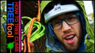 How to Tree Climb (Ep.1/3) --- set & retrieve climbing rope tutorial