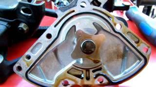 getlinkyoutube.com-2.2 4 cylinder Toyota Camry oil pump seal