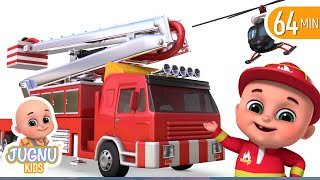 Fire Brigade Truck - Kids Toys Unboxing - Surprise Eggs Toys from Jugnu Kids