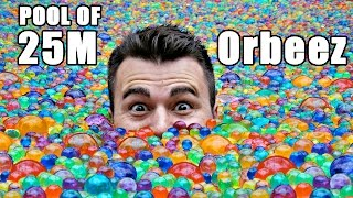 getlinkyoutube.com-25 MILLION Orbeez in a pool- Do you sink or float?