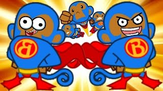 getlinkyoutube.com-Bloons TD Battles! - SUPER MONKEY TIME! - Bloons Tower Defense Online