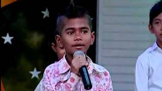 (Funny Show Part 3) Talented Khmer Kid Imitated Khemarak Sereymon