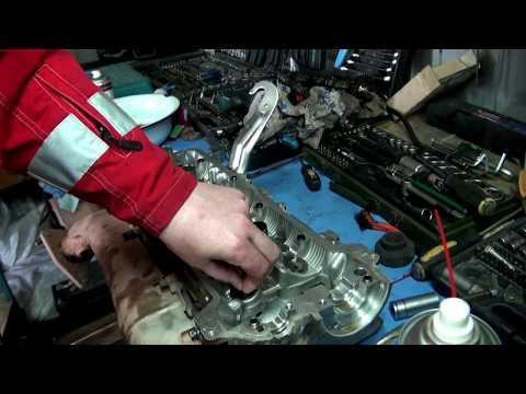 Регулировка клапанов на двигателе 2UZ Toyota