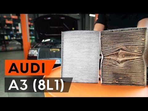 Как заменить салонный фильтр на AUDI A3 1 (8L1) (ВИДЕОУРОК AUTODOC)