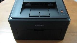 getlinkyoutube.com-Fix paper stuck problem of Samsung ML1640 mono laser printer