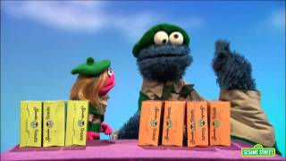 getlinkyoutube.com-Sesame Street: Cookie Monster Helps Prairie Dawn Get Equal