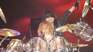 getlinkyoutube.com-X JAPAN - JADE / RUSTY NAIL / 紅 [LIVE, 2015.6.27 LUNATIC FEST.]