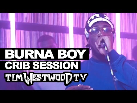 Watch Burna Boys Thrilling 15 Minutes Freestyle On Tim Westwood Crib Session