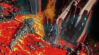 getlinkyoutube.com-LEGO STAR WARS MUSTAFAR BASE MOC