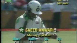 getlinkyoutube.com-*LOWEST ODI TOTAL EVER* PAKISTAN all out 43 - vs WEST INDIES 1992/93