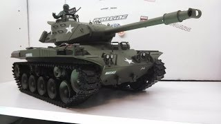getlinkyoutube.com-RC84FILMS: Unboxing U.S M41A3 Walker BullDog RC Tank