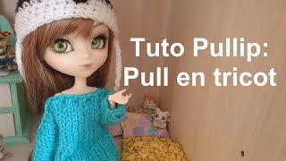 getlinkyoutube.com-Tuto Pullip - Pull en tricot
