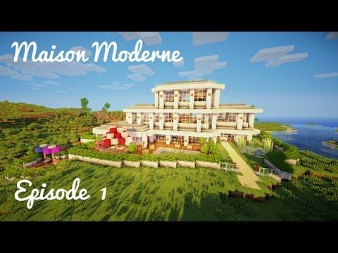 Construction d'une maison moderne! - Ep 01: Rez de chaussée + terrasse