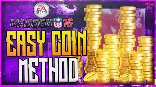 HOW TO GET UNLIMITED COINS AND CRAZY PLAYERS GLITCH IN MADDEN MOBILE