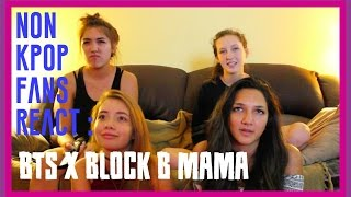 getlinkyoutube.com-BTS X Block B MAMA | NON KPOP FANS REACT