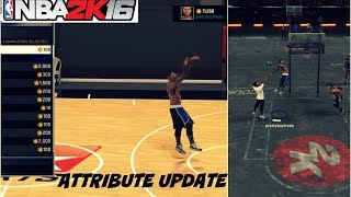 getlinkyoutube.com-NBA 2K16| 99 OVR PG ATTRIBUTE UPDATE | All signature style moves/NBA aniimations - Prettyboyfredo