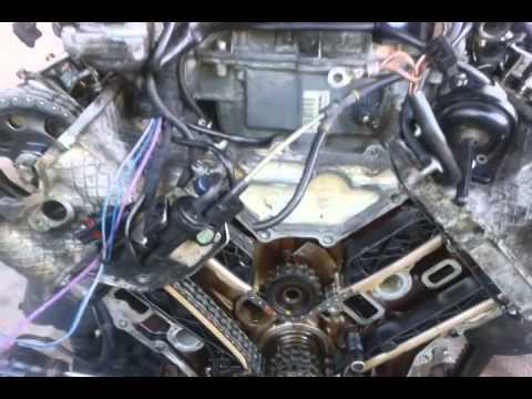 MERCEDES BENZ V6, V8 TIMING CHAIN MARKS