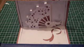 Kirigami Pop Up Hand Fan | FREE Template (Paper Craft) - TCGames [HD]!