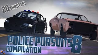 getlinkyoutube.com-BeamNG.Drive Police Pursuits Compilation #8 - [HighSpeed Crashes and Rollovers - 20 Minutes 60FPS]