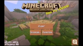 getlinkyoutube.com-Mapas y Mods para minecraft pe 15.6 sin block launcher