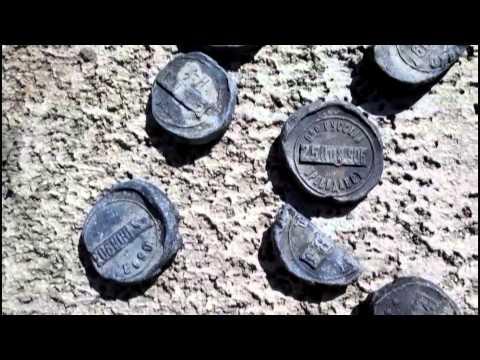 Старинные пломбы - уникальная находка пляжного копа