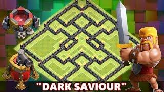 "getlinkyoutube.com-Clash Of Clans | EPIC TOWN HALL 8 (TH8) FARMING BASE ""DARK SAVIOUR"" | 100% DARK ELIXIR PROTECTION!"