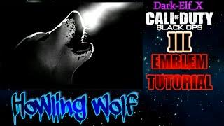 getlinkyoutube.com-Black Ops 3 Emblem - Howling Wolf