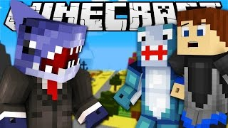 getlinkyoutube.com-Minecraft Adventures -  Sharky &  Scuba Steve SHARK ATTACK IN BIKINI BOTTOM w/ Sharky & Scuba Steve