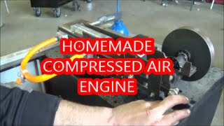 """getlinkyoutube.com-Compressed Air """"Engine""""."""