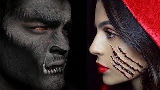 getlinkyoutube.com-Halloween Makeup: Little Red Riding Hood Teni Panosian