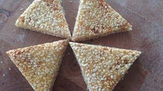 getlinkyoutube.com-How to make Til Chikki- Sesame Brittle (Makar Sakranti Special)