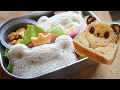 GIVEAWAY! How to Make Pop-Up Panda Toast & Bento Sandwiches