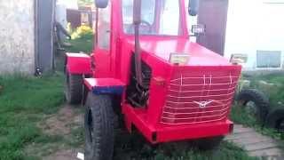 getlinkyoutube.com-Самодельный трактор ,Переломка 4х4