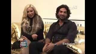 getlinkyoutube.com-Nourhanne & Adnan نورهان منعت عدنان من التمثيل.. وعدنان منعها من الفساتين الفاضحة