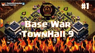 #1 Base War TH 9 Anti 2 Star New 2016 Indonesia