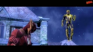 getlinkyoutube.com-Injustice Gods Among Us Walkthrough Part 10 Story mode let's play gameplay Chapter 10 - The Flash