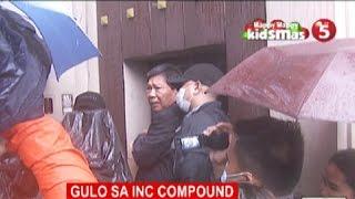 Inspeksyon sa bahay ng 2 itiniwalag na ministro ng INC, nauwi sa gulo (NEWS5 Published: Dec. 16, 2015)